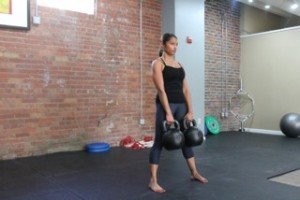 kettlebell deadlift photo